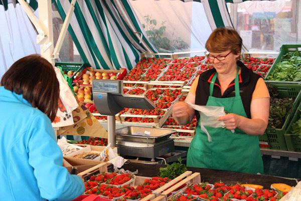 Grüner Markt Rosenheim