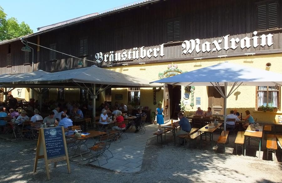 Bräustüberl Maxlrain in Tuntenhausen