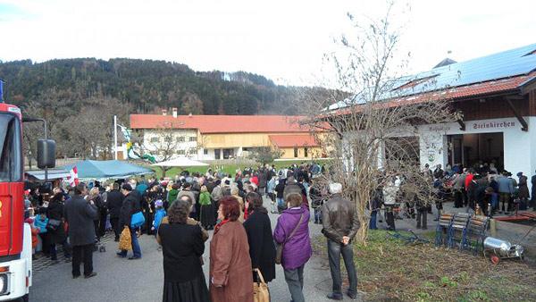 Bauernherbstmarkt in Roßholzen