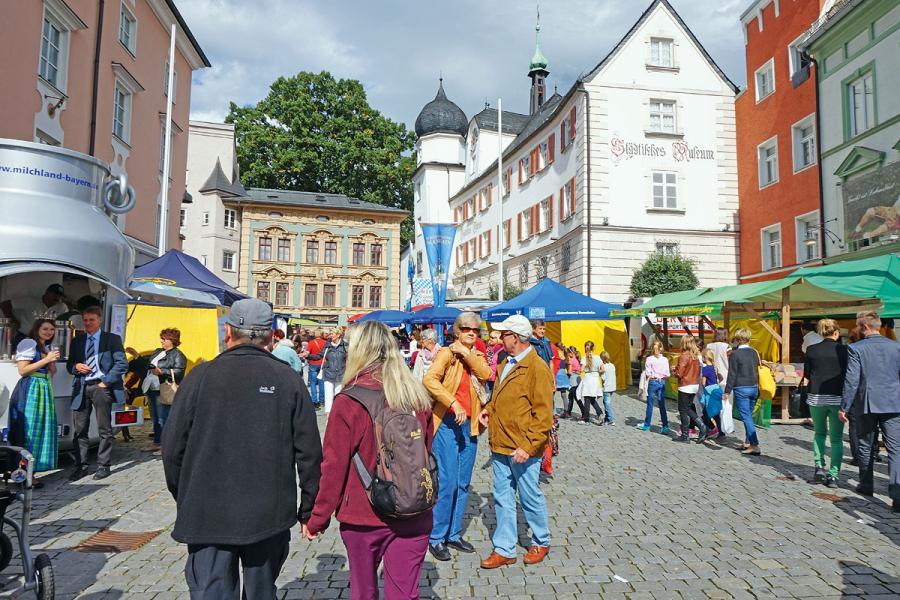 Bauernherbstmarkt Rosenheimer Schmankerlstraße