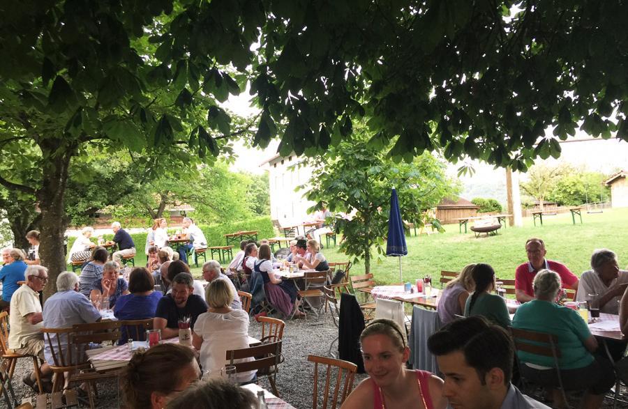 Gasthaus Hilger in Hirnsberg