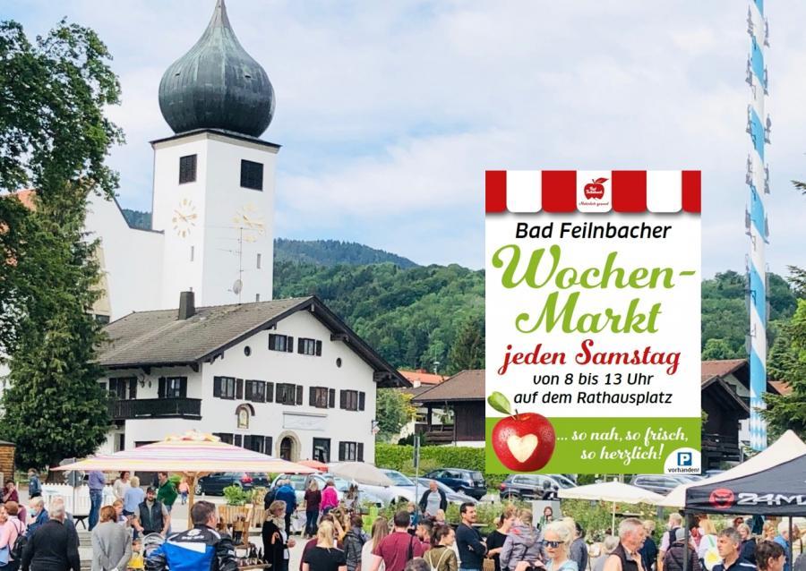 Bad Feilnbach Wochenmarkt